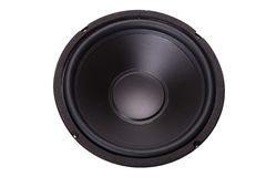 Front of woofer Stock Photo