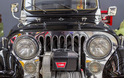 Front of Wyllis Jeep Royalty Free Stock Photography