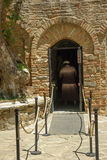 Front yard of House of Virgin Mary - Ephesus Royalty Free Stock Photos
