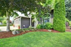 Front Yard Landscape Design Photographie stock