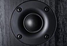 Frontaal beeld van hoge frequentie audiospreker royalty-vrije stock foto