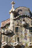 Frontage of Casa Battlo Stock Images