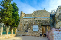 The frontage of the Church of the Nativity Stock Photos