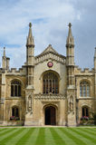 Frontage of corpus christie cambridge Royalty Free Stock Image
