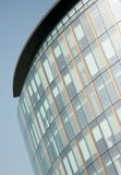 Frontage di vetro dell'ufficio a Glasgow, Scozia Fotografia Stock