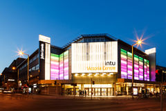 Frontage of the INTU Victoria Centre Royalty Free Stock Photos