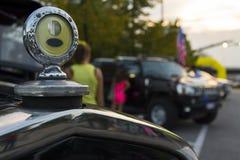 Frontal исторического автомобиля Стоковое фото RF