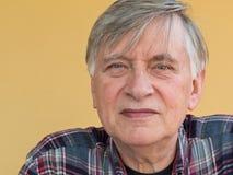 Frontal пенсионера Стоковые Фото