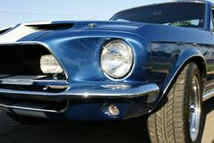 Frontal 1968 de Shelby Images stock
