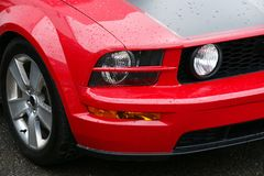 Frontal 2005-2008 de mustang Images stock