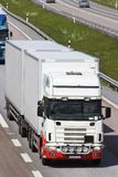 Frontal-caminhão-vista Imagens de Stock
