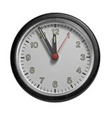 Frontal clock face Royalty Free Stock Photo