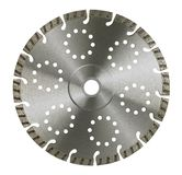 Frontal cut-off wheel Royalty Free Stock Photography