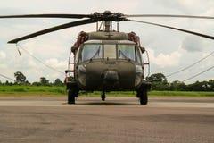 Frontal del för brasiliansk militar helikopter Fotografering för Bildbyråer