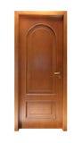 Simple wooden door Stock Image