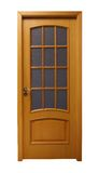 Light brown door Royalty Free Stock Photo