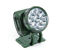Frontal LED torch Royalty Free Stock Images