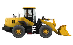 Frontal loader Stock Image