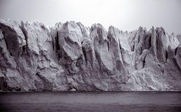 Frontal Perito Moreno in Argentina royalty free stock image