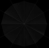 Frontal spiderweb illustration Stock Photo