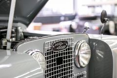 Land Rover Series II Front Stock Images