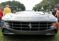 Frontal view new ferrari ff Stock Photo