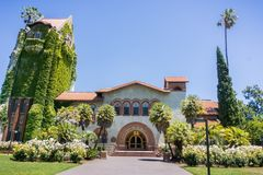 Free Frontal View Of Old Building At The San Jose State University; San Jose, California Stock Photo - 103955860