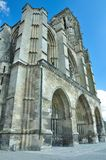 Frontal view of Soissons cathedral Royalty Free Stock Photo