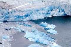 Glacier of Nansen Stock Images