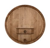 Frontal wine cask Stock Images