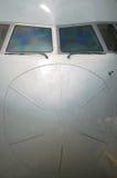 Frontales Flugzeug Stockbild