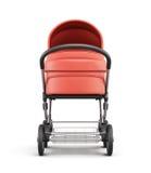 Frontansicht eines Kinderwagens Wiedergabe 3d Lizenzfreie Stockfotografie