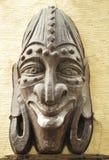 Fronte africano della mascherina Fotografie Stock Libere da Diritti