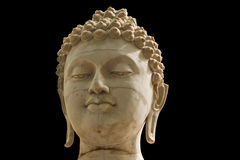 Fronte antico del Buddha, immagini stock