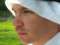 Fronte arabo Immagine Stock Libera da Diritti
