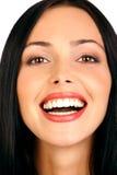 Fronte attraente della donna. fotografia stock libera da diritti