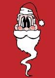 Fronte del Babbo Natale Immagine Stock Libera da Diritti