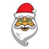 Fronte del Babbo Natale Immagini Stock Libere da Diritti