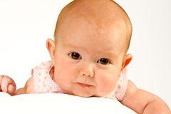 Fronte del bambino Fotografia Stock