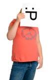 Fronte del Emoticon immagini stock