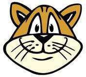 Fronte del gatto royalty illustrazione gratis