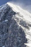 Fronte del nord di Eiger Immagini Stock