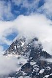 Fronte del nord di Eiger Immagini Stock Libere da Diritti