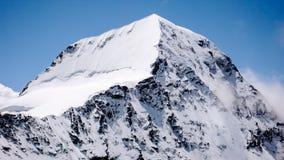 Fronte del nord di Mönch nelle alpi svizzere Immagine Stock