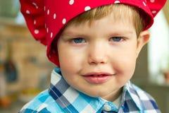Fronte del ragazzino Fotografia Stock Libera da Diritti