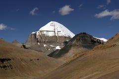 Fronte del sud del Monte Kailash sacro immagine stock