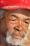 Fronte dell'Africano di Caracterful Fotografia Stock