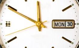 Fronte dell'orologio Immagini Stock