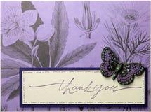 Fronte della cartolina d'auguri di Papercraft Immagine Stock Libera da Diritti