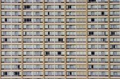 Fronte della costruzione di appartamento Immagine Stock